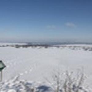 Elsenborn en hiver ( Photo ©eastbelgium.com )