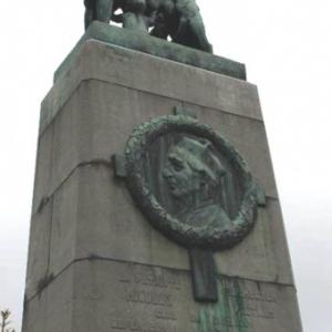 Le monument Pietkin a Sourbrodt