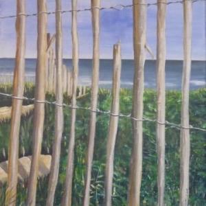 """"""" La mer en cage """" ( Monique Wouters )"""