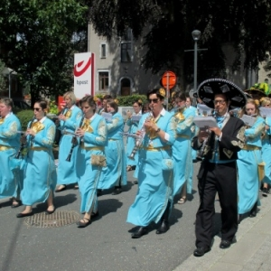 Malmedy tout en couleurs pour les 50 ans de la Mesnie dol Haguète