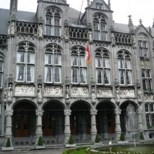 Liege : le Palais des Princes - Eveques ( facade principale )