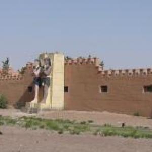 Studios de cinéma et decors a Ouarzazate