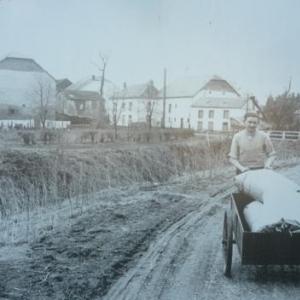 Le village luxembourgeois de Driicht au temps jadis