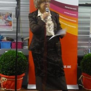 Intervention de Mme Quinet, Presidente provinciale de Liege