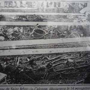 La fosse des 21 squelettes
