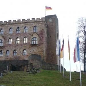 Le chateau de Hambach, ancienne residence des eveques de Speyer