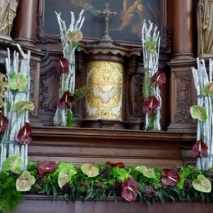 La Chapelle de la Resurrection mise en evidence par la delegation de Diest - Hasselt