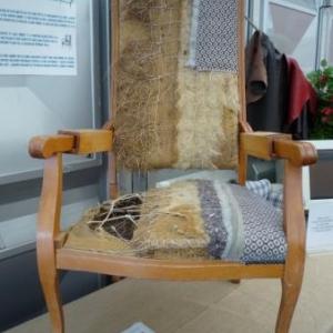 Les Garnisseurs reunis : les differentes operations de confection d'un fauteuil