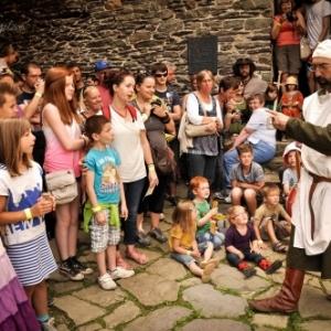Fete medievale annuelle a Reinhardstein