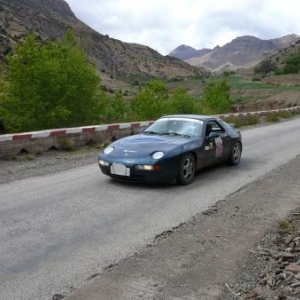 Maroc Prestige Porsche 928 GTS de 1993