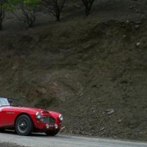 Maroc Classic Austin Healey MK III de 1959