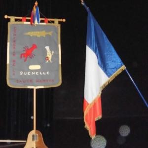 """Repas de cloture preside par la """" Confrerie de la Quenelle """" ( Photo de F. Detry )"""