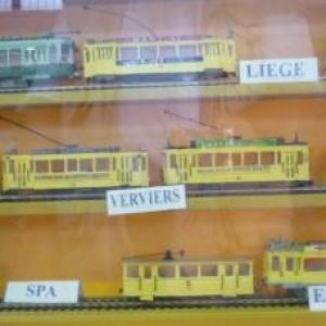 Modeles reduits de trams regionaux