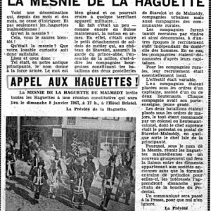 Archives Mesnie 1967