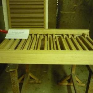 La manufacture d'orgues : un pedalier