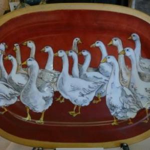 Mieke DIEDEREN (Peinture sur porcelaine ) 080. 33 97 32