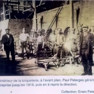Les ouvriers sur chantier