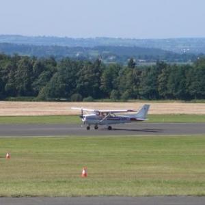 Avion au decollage