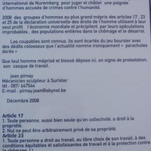 14.12.2008  La charte du Memorial