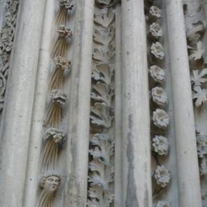 Details du portique d'entree