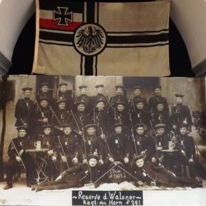 Incorporation dans l' armee allemande