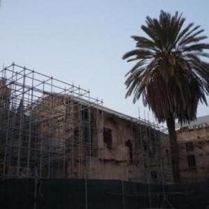 Ancienne eglise armenienne en restauration ( cote turc )