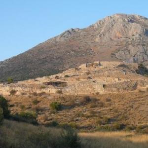 Le site de Mycenes (13eme s. avt JC)