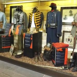 Les uniformes des belligerants