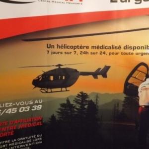 Stand du Centre Medical Heliporte de Bra-Sur-Lienne
