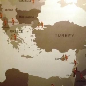 Pays de l'empire ottoman ou le theatre turc etait populaire
