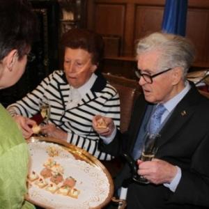 Reception communale ( photo de Michael ALMER )
