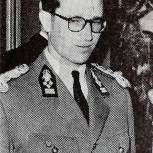 Visite royale à Malmédy  le  11 septembre 1956