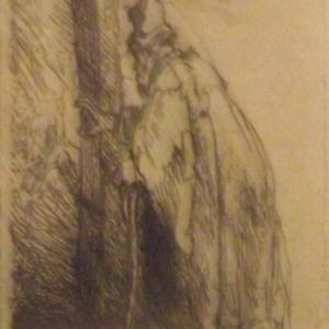 Homme en robe ( vers 1629 )