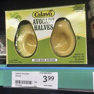 Emballage stupide : Des avocats prédécoupés (et gluten free !)