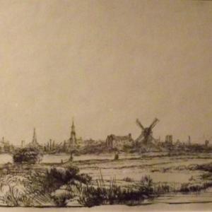 Vue d' Amsterdam ( 1641 )