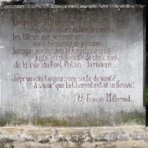 Francois Mitterrand et son amour de la Charente