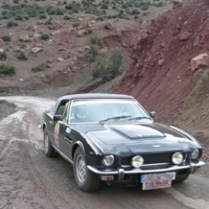 Maroc Classic Aston Martin Volant Cabriolet de 1980