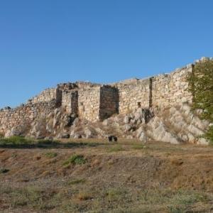 Tyrinthe (Tiryns) : la muraille de l'acropole