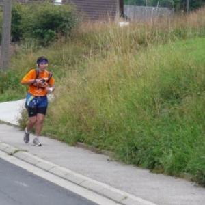 Une participante marathonienne