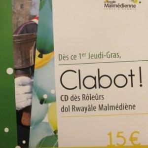 """CD de la Royale Malmedienne """" Clabot """""""