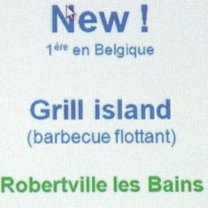 « GRILL  ISLAND » : le BBQ flottant (de fin juin à fin septembre )