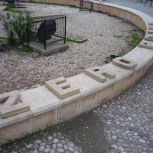 Le point Zero au centre du square Ataturk