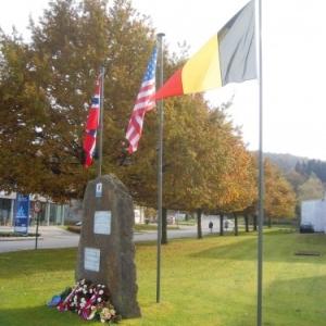 Malmedy            Des soldats norvégiens honorés