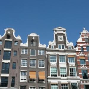 Amsterdam : de magnifiques facades en bordure des canaux