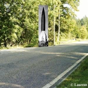 En bordure de la route ( Photo Laurent Bailleul )