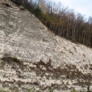 Le site protege de la Montagne St Pierre