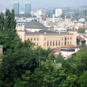 Vue de Sarajevo