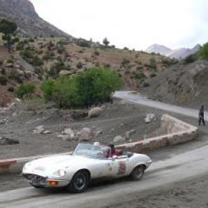 Maroc Classic Jaguar Type E V12 de 1973