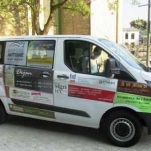 Le vehicule et ses sponsors