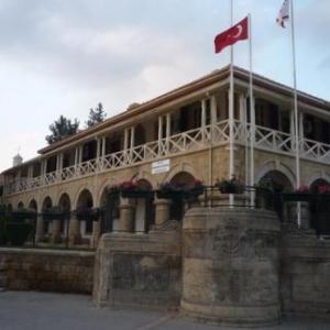 Batiments officiels a Nicosie turque